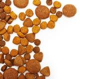 Trockenes Lebensmittel für Hund und Katze Lizenzfreies Stockfoto
