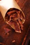 Trockenfleisch vom Rind Stockfoto