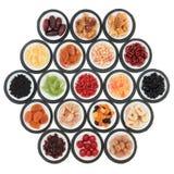 Trockenfrüchte-Probenehmer Stockfoto