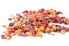 Trockenfrüchte und Beeren stockbilder