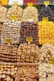 Trockenfrüchte und Nüsse Lizenzfreies Stockbild