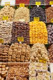 Trockenfrüchte und Nüsse Lizenzfreie Stockfotografie