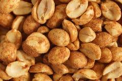 Trocknen Sie gebratene Erdnüsse Lizenzfreie Stockfotos