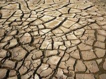 Trocknen Sie gebrochene Erde Stockfoto