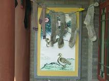 Trocknende Socken Stockbilder