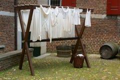Trocknende Wäscherei Lizenzfreies Stockbild