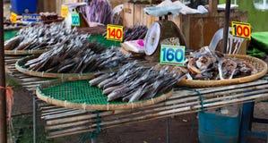 Trocknender gourame Fischstall Stockbilder