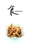 Troditional chinese food pickle radish Royalty Free Stock Photos