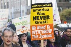 Troefprotest Stock Afbeeldingen
