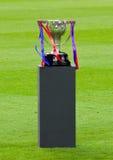 trofé för fotbollligaspanjor Royaltyfri Foto