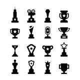 Trofésymbol royaltyfri illustrationer