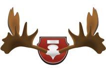Troféu da caça - chifres Fotografia de Stock Royalty Free