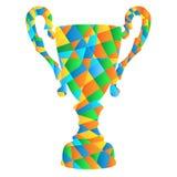 Troféu da cor Fotos de Stock