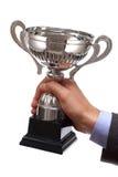 Troféu de vencimento do negócio Imagem de Stock Royalty Free