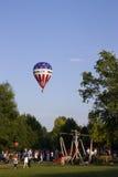 Troféu do balão do mundo Fotos de Stock