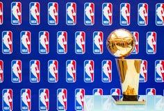 Troféu do campeonato de NBA de Larry O'Brien Foto de Stock