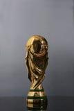 Troféu do campeonato do mundo Imagem de Stock Royalty Free