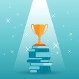 Troféu do conhecimento Foto de Stock