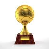Troféu do futebol ilustração royalty free