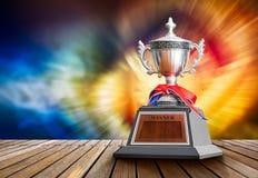 Troféu do vencedor foto de stock