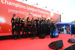 Troféu dos campeões Fotos de Stock Royalty Free