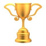 Troféu dourado Imagens de Stock
