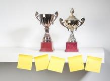 Troféus da concessão Foto de Stock Royalty Free