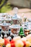 Troféus do campeão Copos dos vencedores trophy Foto de Stock