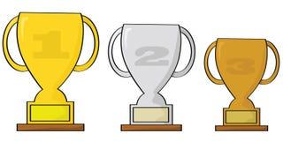 trofea royalty ilustracja