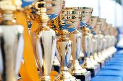 Trofeeën Royalty-vrije Stock Fotografie