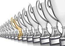 Trofeeën Royalty-vrije Stock Foto's