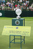 Trofee met het Geld van de Prijs - de Uitdaging van het Golf Nedbank Stock Foto's