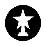 trofeetoekenning geïsoleerd pictogram Royalty-vrije Stock Foto's