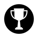 trofeetoekenning geïsoleerd pictogram Royalty-vrije Stock Afbeelding