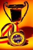 Trofeo imágenes de archivo libres de regalías