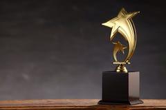 Trofeo foto de archivo