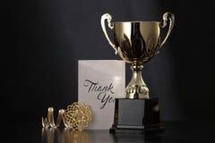 Trofeo fotografía de archivo