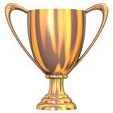 Trofeo Bronze Fotografia Stock Libera da Diritti