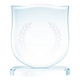 Trofeo de cristal imagenes de archivo
