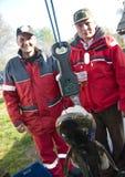 Trofeo de la pesca imagen de archivo