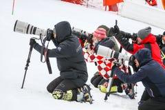 Trofeo de la reina de la nieve fotografía de archivo