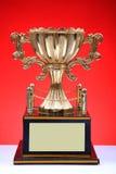 Trofeo de los ganadores fotografía de archivo