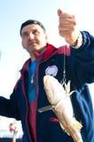 Trofeo de los pescados fotografía de archivo libre de regalías