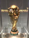 Trofeo 2018 de los winner's del mundial del Fifa imagen de archivo