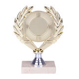 Trofeo de oro imagen de archivo libre de regalías