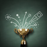 Trofeo dei vincitori Fotografia Stock Libera da Diritti