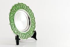 Trofeo del acero inoxidable de la placa Fotografía de archivo libre de regalías