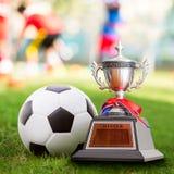 Trofeo del ganador imagen de archivo libre de regalías