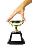 Trofeo del gancho agarrador fotos de archivo libres de regalías