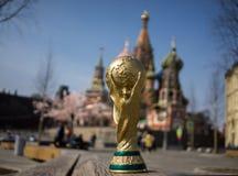 Trofeo del mundial de la FIFA Foto de archivo